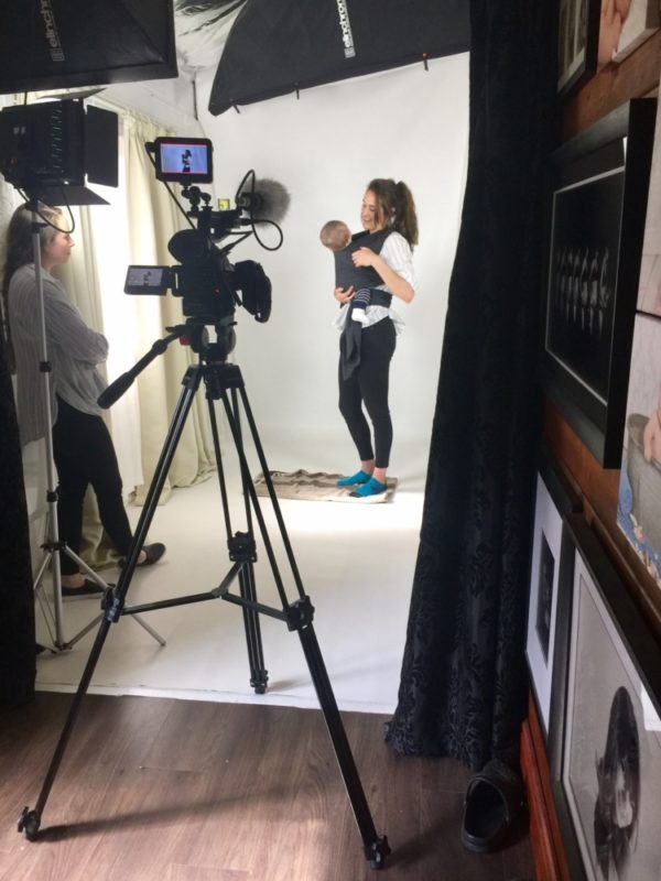 Behind the Scenes Commercial Video in Sussex Studio