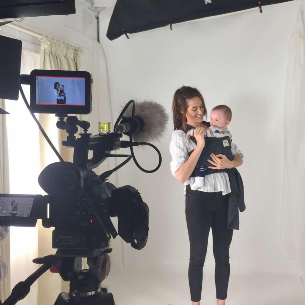 Behind the Scenes Commercial Video in Sussex Studio