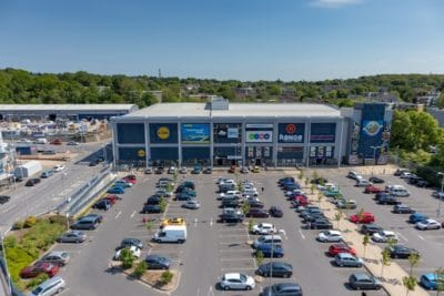 Commercial Property Photography with Drone UAV Sussex Surrey Kent UK