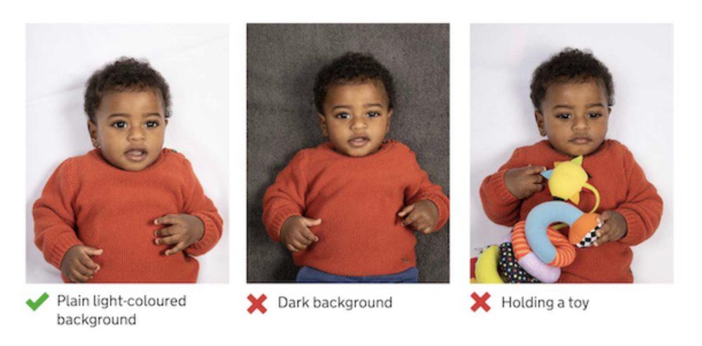 How not to take baby passport photo
